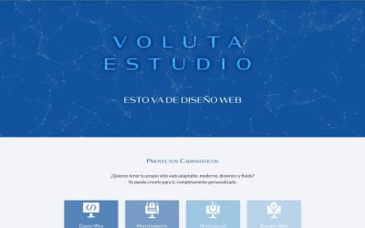 El primer post de Voluta Estudio